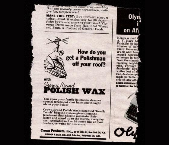 polish wax